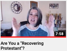 Are you a Recovering Protestant?